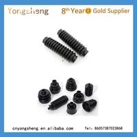 Thread rubber dust covers M6 M8 M10 M14 M16 NR BR EPDM NBR custom anti vibration rubber damper buffer mounts shock absorber