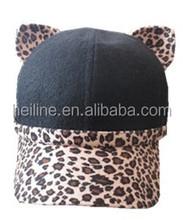 custom design animal pattern baseball cap