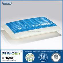 KINGKADY Wholesale BASF Material Memory Foam Neck Care Pillow/Memory Foam Silicone Filling