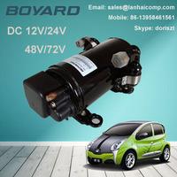 boyard r134a 12v 24v dc freezer refrigerator compressor replace compressor qdh2511g for electric air conditioning for tractor