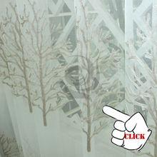 good price fashionable decoration cafe sale online voile curtains