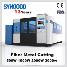 Metal Laser Cutting Machine 0.5-20mm CS and Stainless Steel 1500*3000mm Fiber Laser Cutting Machine