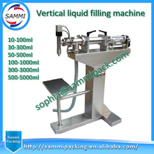 Newest product piston filling machine for vacuum perfume,liquid,beverage,milk,oil,mineral water