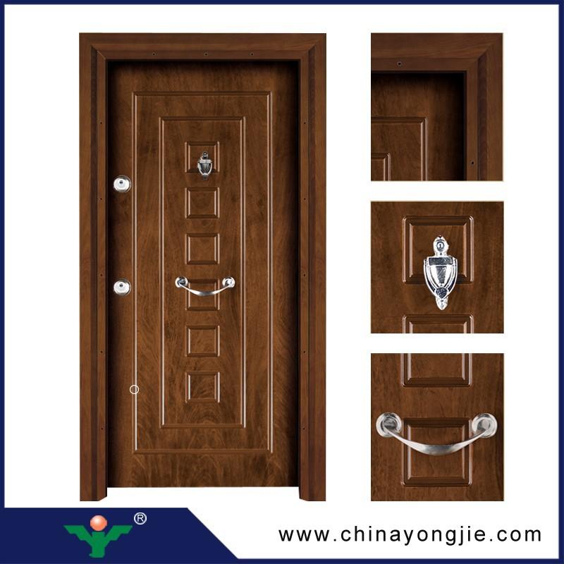 2015 new design high quality wooden steel sliding door for New door design 2015