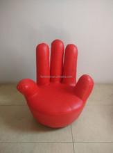 Single bend fingers Finger sofa Flannelette sofa