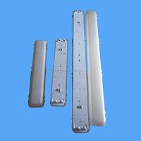 1*58W 2*58 5ft 1500mm t8 waterproof fluorescent light fixtures ip65 led tri-proof light fixture