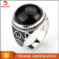 men ring made in china genuine black stone best imports wholesale jewelry