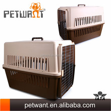 factory price large sized dog carriers pet cage plastic house