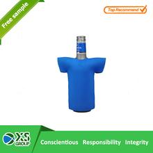 2015 Cheap simple neoprene blue mini water cooler bottle