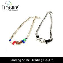 Free Shipping puzzle piece necklace necklace cell phone