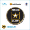 Retired Army Chrome Emblem