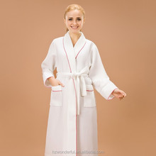 white shawl collar waffle robe for dog sex wholesale dog sex toy dog sex woman night dress night dresses hot sale over the world