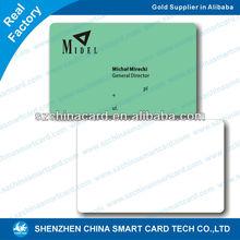 13Years Shenzhen Factory Cheap PVC Employee Card Plastic ID
