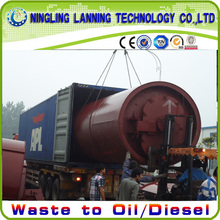 waste plastic pyrolysis machine made by profeesional manufature