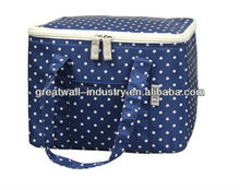 Promotional polyester thermal insulated cooler bags wholesale