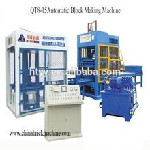 Professional and cheap QT8-15 Automatic Block Making Machine