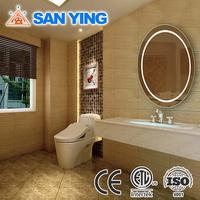 Ellipse Mirror with Light Inside for Bathroom
