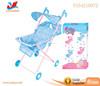 Adjustable handle stroller for big kids umbrella baby doll stroller