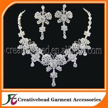 Nuevo producto caliente para 2014 el último diseño de la galjanoplastia de plata de la mariposa de la joyería del estilo