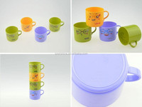 hot sale factory bottom price fashion plastic kid cup