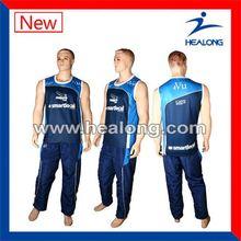 Healong Make Your Own Snap On European Basketball Uniforms Design