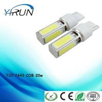 High Power 20w T20 7443 LED Pure White 12V cob car light