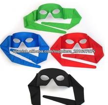 baratos negro máscara de fiesta de carnaval máscara de la decoración