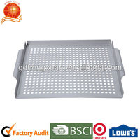 Customized Bakery Tray Easily Cleaned Frying Pan Non-Stick Barbecue Pan for Beef Mutton Chicken