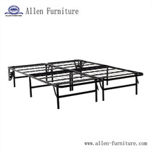 Metal Platform Bed Frame and Mattress Foundation with headboard
