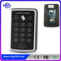 125khz Wiegand RFID Proximity Card Reader with Keypad