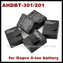 For GoPro Go Pro Hero3 AHDBT-301 AHDBT-201 Genuine Video Camcorder Battery