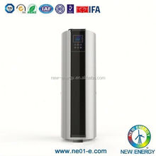 Air to water combo type 210l heat pump water heater with cool air outlet