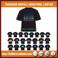 Manufacturer ShenZhen Supplier High Quality Led T-Shirt