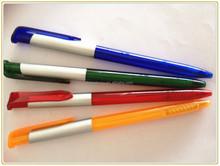 CH-6710 cheap plastic twist actional hotel pen& hot sale pen