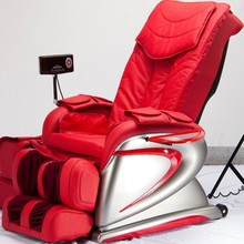 Cheap electric healthcare massage chair with foot massage and heating, reclining backrest