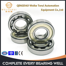 chrome steel machine parts bearing deep groove ball bearing 6300 series/ p6 Precision level use on electrical machine
