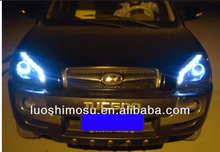 Headlight Angel Eyes Headlights for Automobiles Modified LED Head Light Assembly