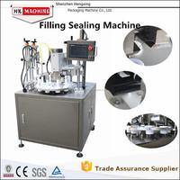 HX-006 Automatic Plastic/Aluminum Filling And Sealing Machine