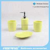 Bathroom Accessories ceramic bathroom set for home