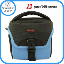 Shoulder waterproof camera bag nylon colorful camera bag pouch