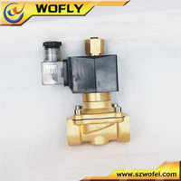 Normally opened pilot operate 2w160-15 solenoid valve