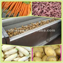 carrot washing machine/vegetable processing machine