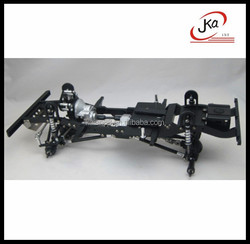 RC Truck LADDER FRAME CHASSIS CNC METAL For RC Land Rover Defender 90