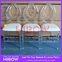 clear Resin tiffany / chiavari chairs in discount