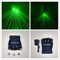 Hanfeng Cheap price laser party supplies laser gloves rave light gloves for dj stage show