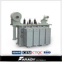 10kV 220V 63kVA three phase step down transformer