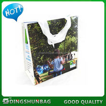 Design new products recycling cartoon pp woven bag