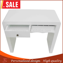 spare no cost at any cost resin coated beauty desk,wooden lovely nail manicure table