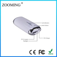 5V Private mould power bank for smartphone/mp3/mp4/mp5
