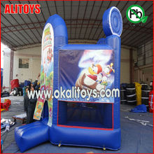 cheap mini lovely cartoon used commercial inflatable pumpkin bouncers for sale